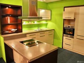 金牌櫥柜 綠色墻面