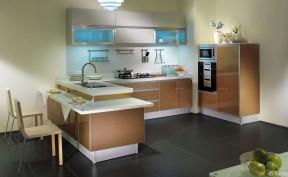 金牌櫥柜 小戶型開放式廚房