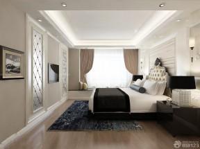 歐式飄窗窗簾 現代歐式風格