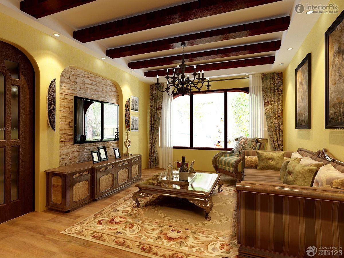 最新美式田园风格别墅室内家具设计图片