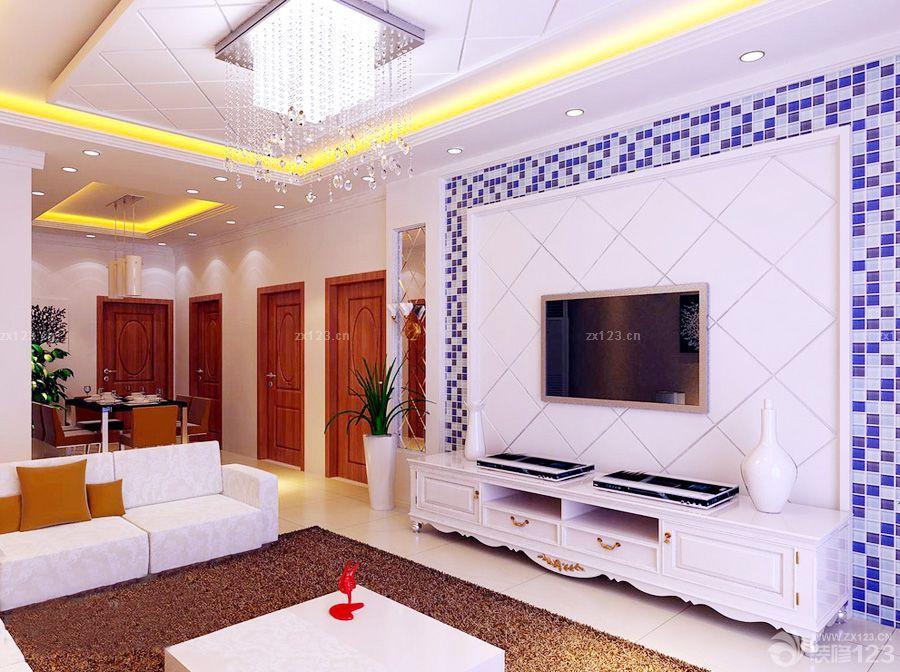 电视背景墙马赛克瓷砖贴图图片