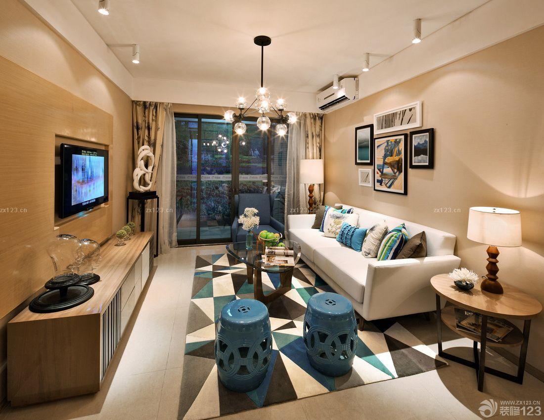 78平精装修房子室内设计效果图
