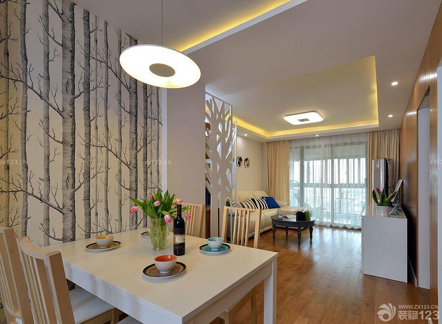 两室两厅精装修房子设计效果图