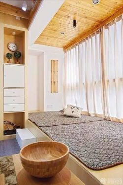 傳統日式風格飄窗榻榻米設計