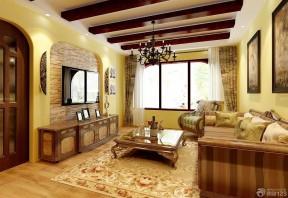 美式田園風格客廳 美式沙發