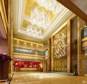 售樓中心豪華大堂裝修效果圖-每日推薦