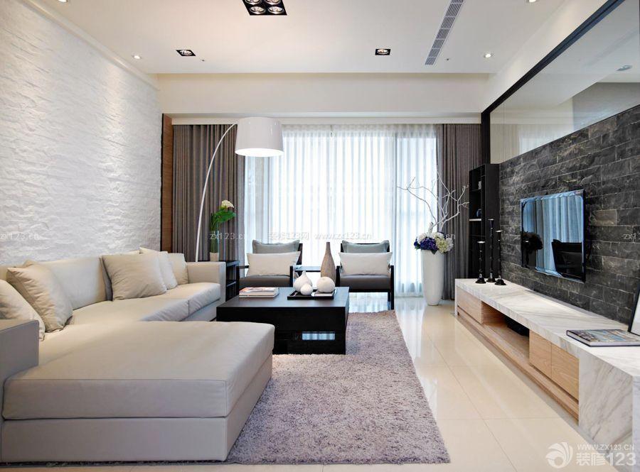 现代风格100平方的房子电视背景墙装修有什么可以免费领红包图