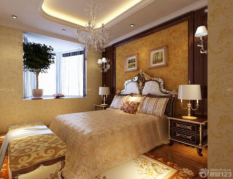 100平方的房子卧室装修设计图