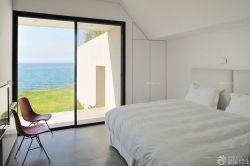 現代簡約風格臥室灰色門框裝修實景圖