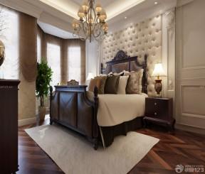 軟包背景墻 歐式臥室