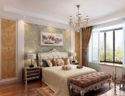 100平別墅臥室雙人床設計圖