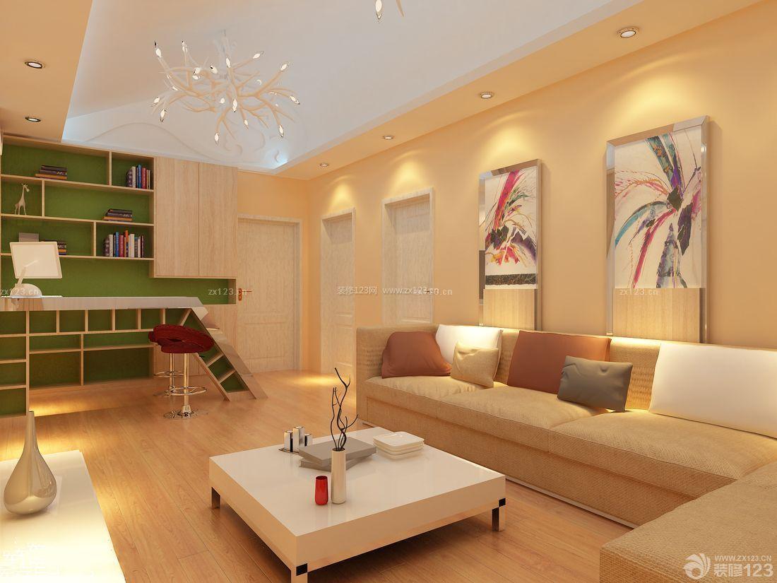 温馨风格60平米房屋装修设计图欣赏