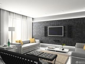 70-80平方小戶型裝修 黑白風格