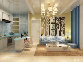 60平米房屋裝修設計圖 家裝客廳設計