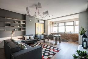 60平米房屋裝修設計圖 小戶型陽臺改廚房