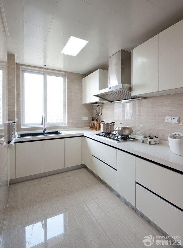 80-90平方小户型厨房橱柜装修效果图