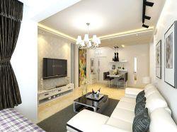 家裝小客廳設計樣板房