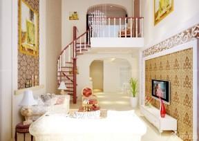 100平米復式樓 樓梯設計