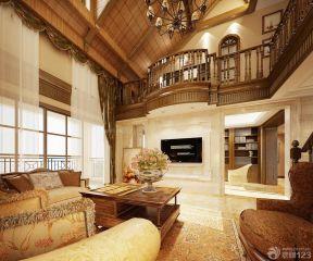 100平米復式樓 美式家裝