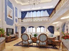 100平米復式樓 美式風格