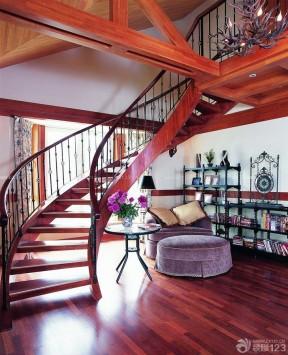 100平米復式樓 混搭風格