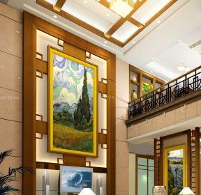 歐式家裝100平米復式樓吊頂設計圖-每日推薦