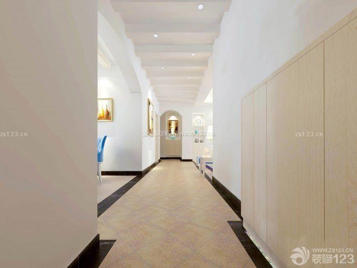 100平方米房屋走廊玄关吊顶装修设计效果图图片