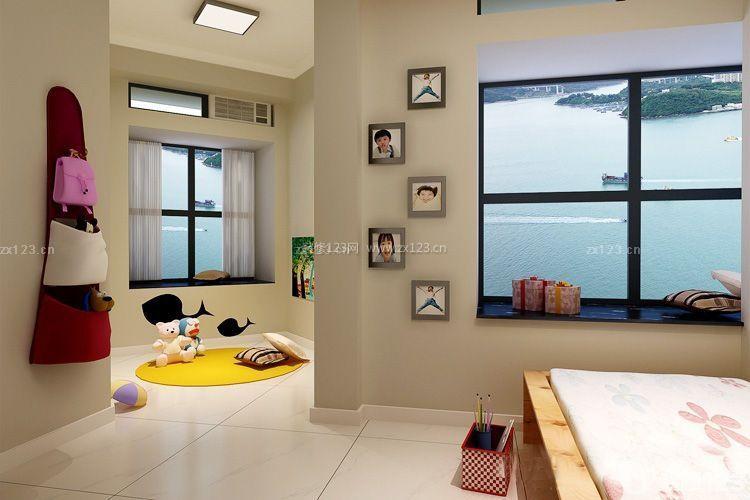 100平方米房屋儿童房休闲区装修布置效果图