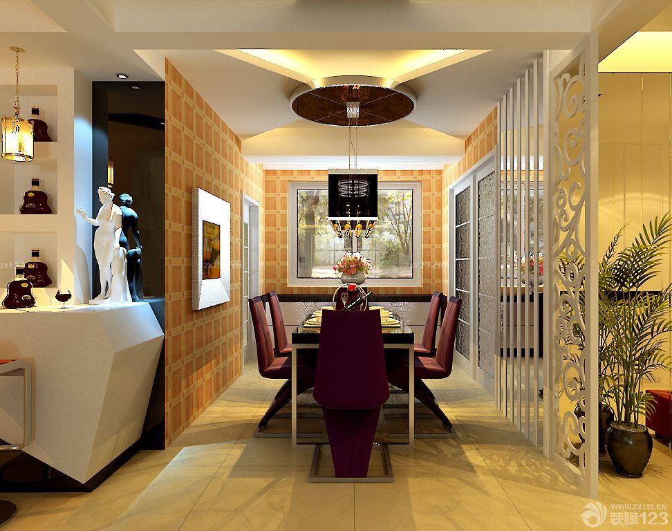 90后婚房欧式风格餐厅设计图片