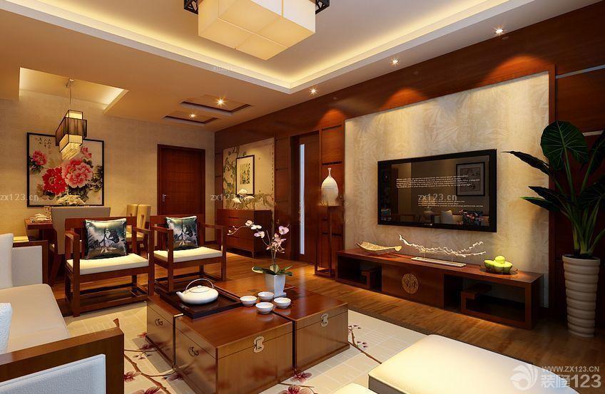 新中式120平米房子室内装修设计图