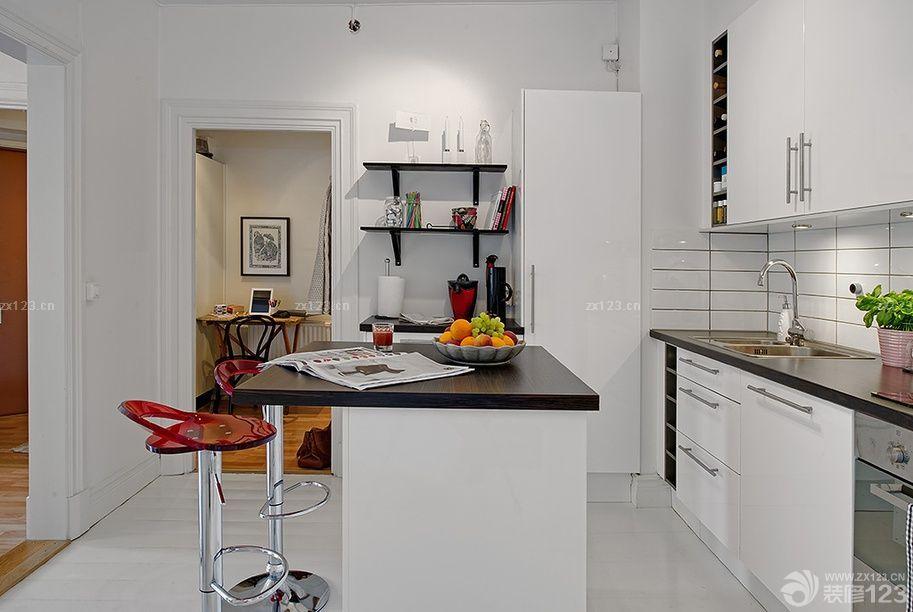 80平方房子开放式厨房装修效果图
