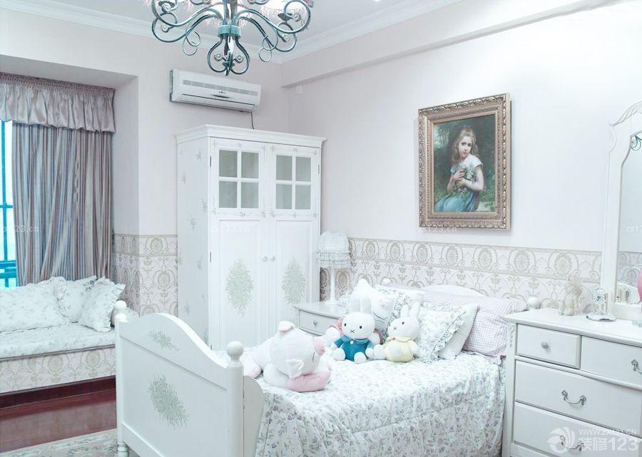 经典简欧风格100平房子儿童房装修效果图图片