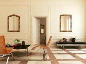 130平米客廳簡單裝修效果圖 簡歐風格