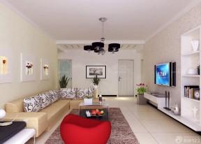 130平米客廳簡單裝修效果圖 簡約風格