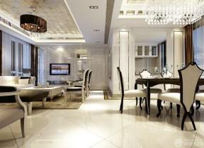 100平米別墅 簡歐風格