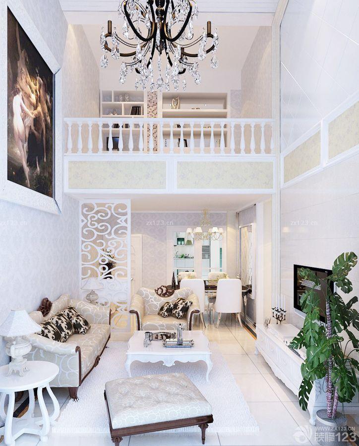 100平方二层别墅栏杆扶手设计图_装修123效果图图片