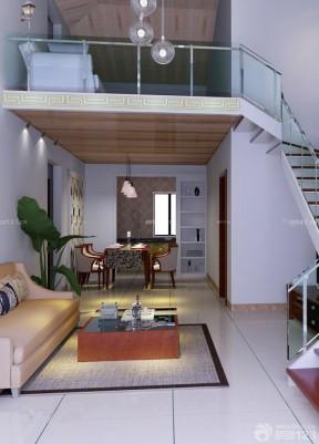 100平方二层别墅 跃层设计
