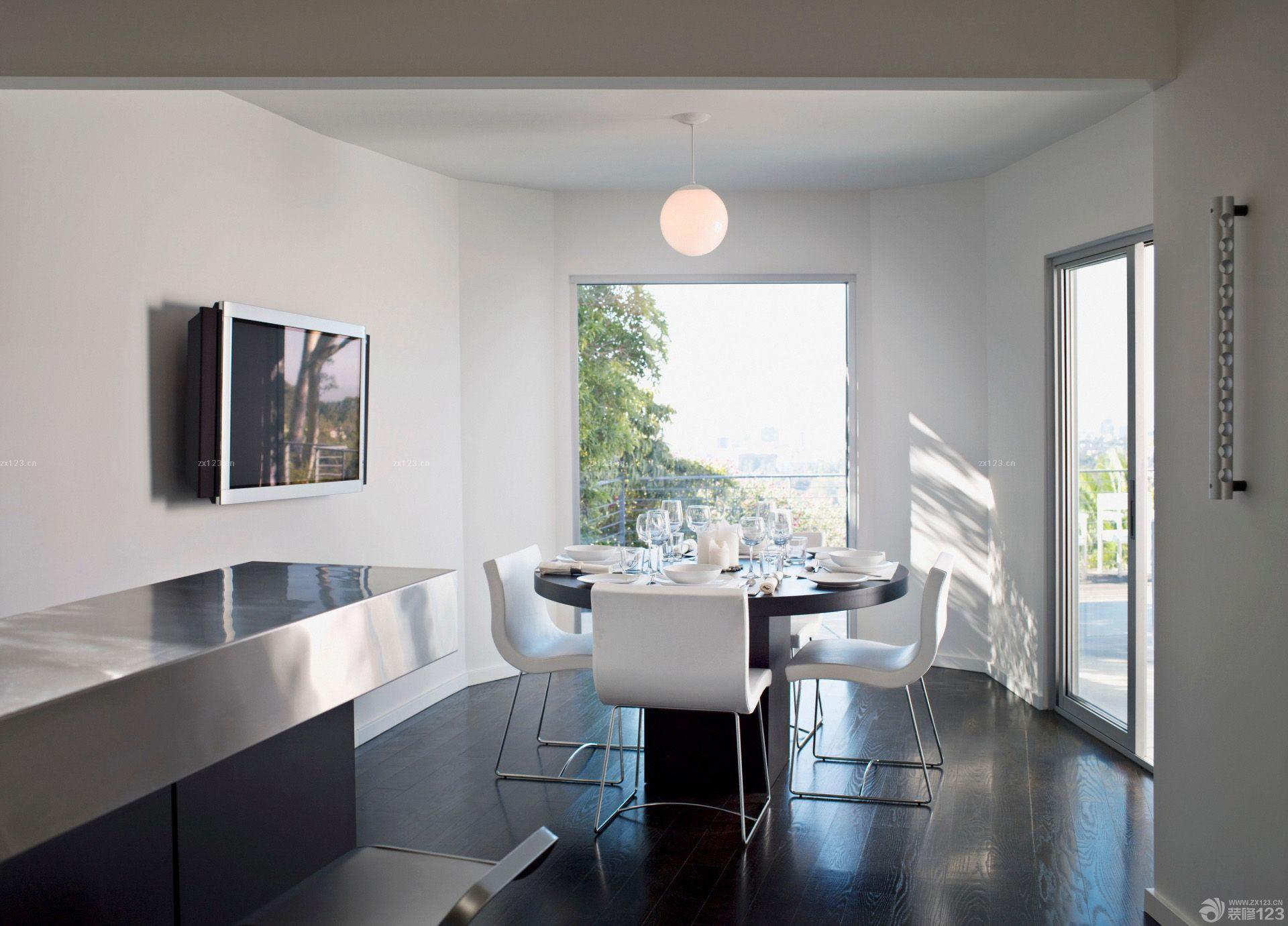 简约风格80平小复式餐厅装修效果图图片