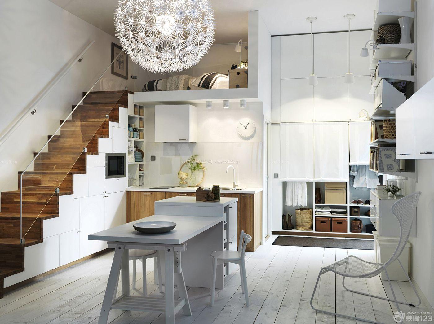 精美小户型60多平米房子装修图片大全