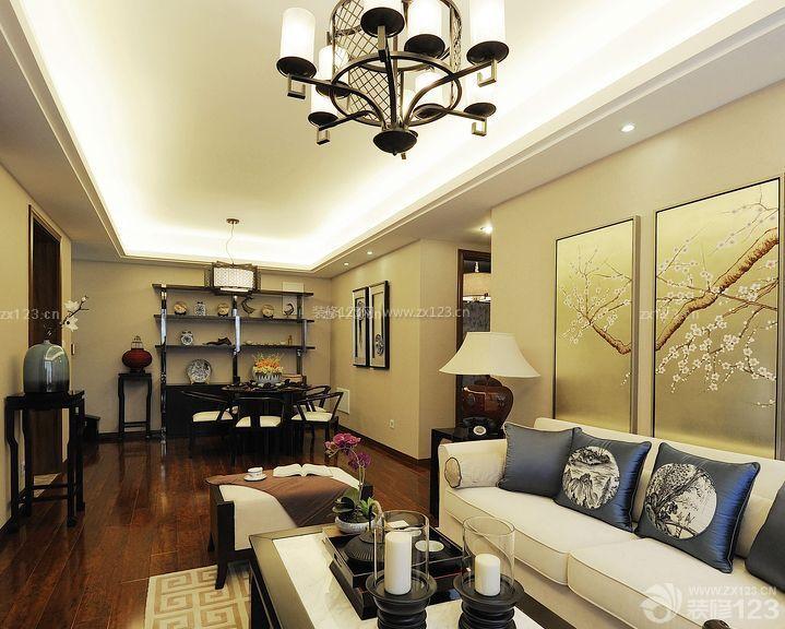 中式房屋90平方两室两厅装修案例