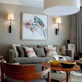 60多平米房子大全 客廳十字繡