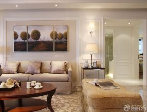 90平方兩室兩廳 客廳墻面