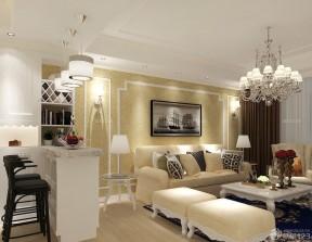 90平方兩室兩廳 歐式客廳