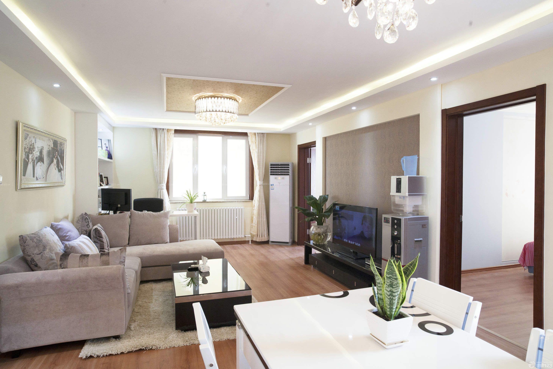 80平米小户型两室一厅家装客厅设计装修效果图