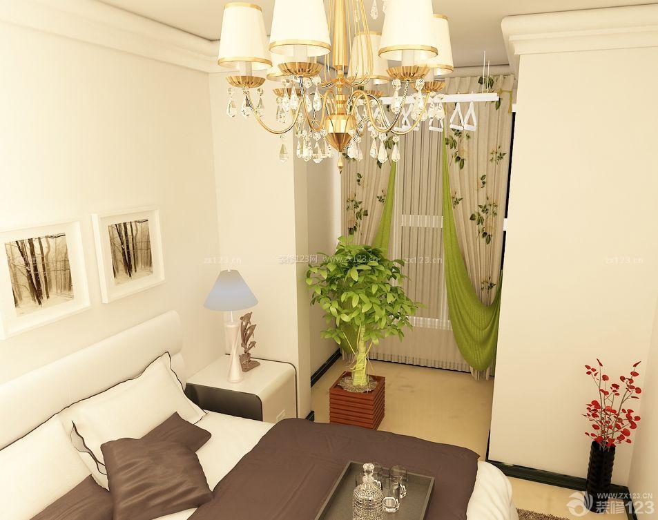90平米三室一厅主卧室装修样板间