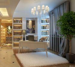 現代歐式風格130平米新房背景墻裝飾大全