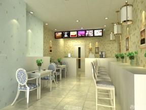 70平米商鋪裝修 快餐店設計