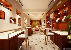 70平米商鋪裝修 珠寶柜臺