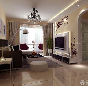 80个平方房屋客厅装修设计效果图-每日推荐