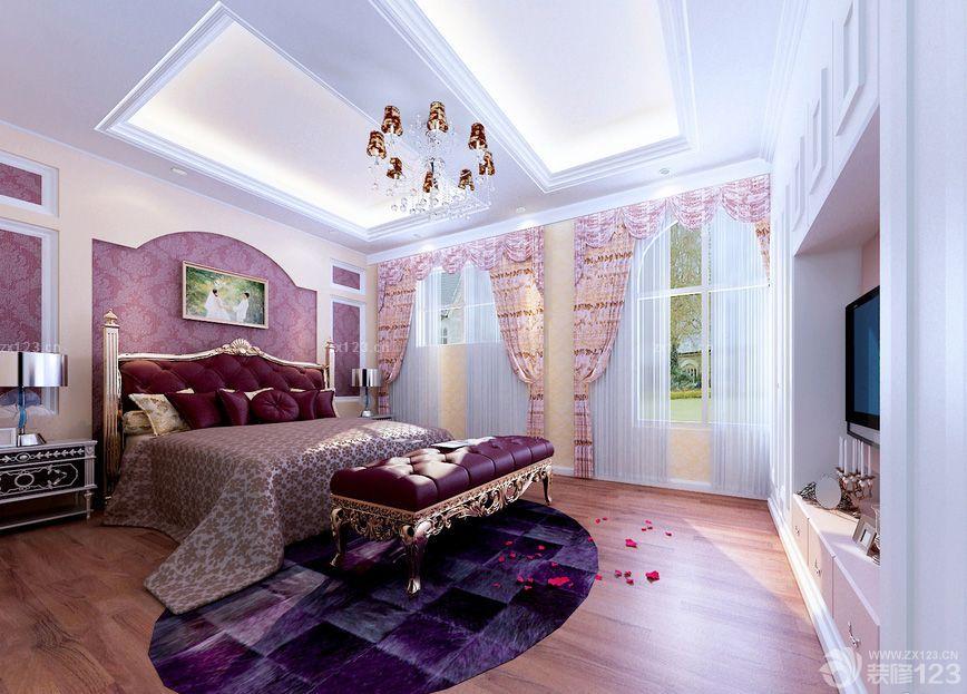 70平米独单婚房欧式古典床装修效果图片